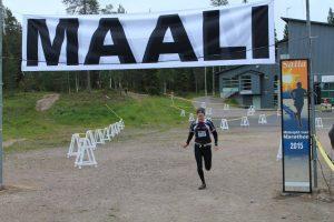 Maalisuoralla (Kuva: Salla Trail Marathon)